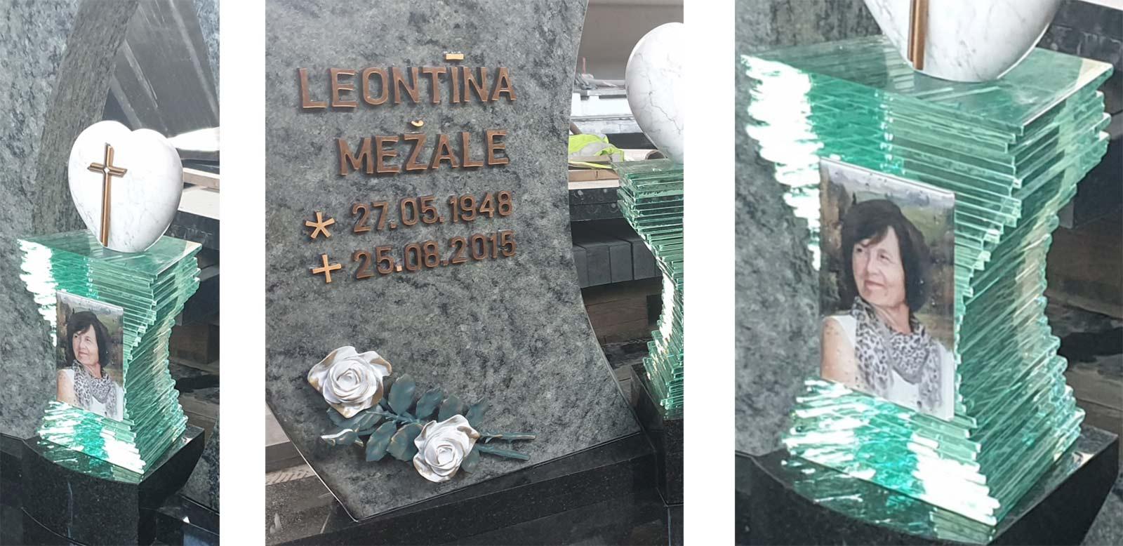 Kapu pieminekļa detalizācija