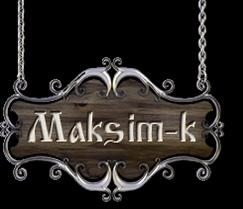 Maksim-k SIA Logo