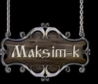 Maksim-k SIA Логотип
