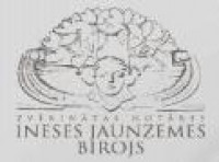 Rīgas apgabaltiesas zvērināts notārs Inese Jaunzeme Logo