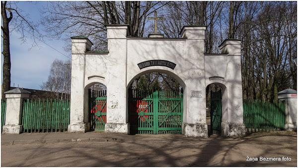 Daugavgrīvas Baltās baznīcas draudzes kapsēta Logo