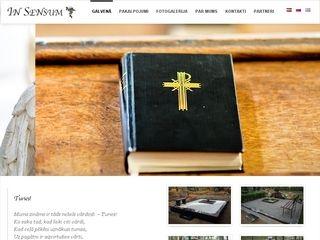 In Sensum SIA Homepage