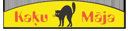 Kaķu māja restorāns Логотип