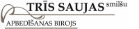 Trīs saujas smilšu SIA Логотип
