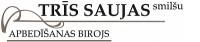 Trīs saujas smilšu SIA Logo