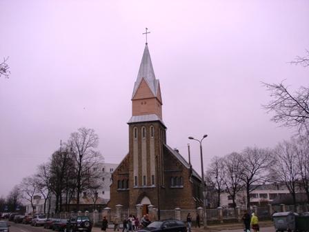 Bolderājas Vissvētākās Jaunavas Marijas debesīs uzņemšanas baznīca logo