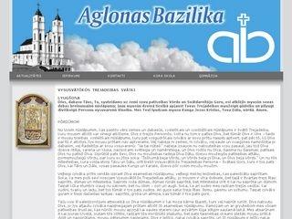 Aglonas Vissvētākās Jaunavas Marijas Debesīs uzņemšanas Bazilika Mājaslapa