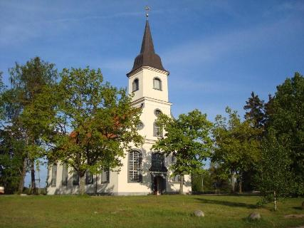 Ādažu Evaņģēliski luteriskā baznīca Logo
