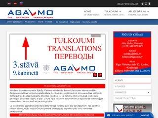 AGALMO SIA tulkošanas birojs Homepage