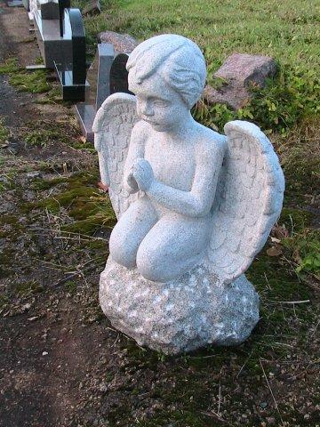 Kapu skulptūras. Eņģelis