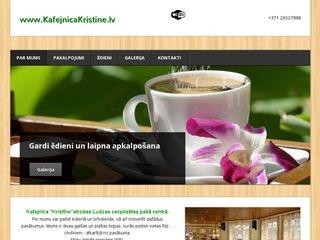 Kristīne kafejnīca Galvenā