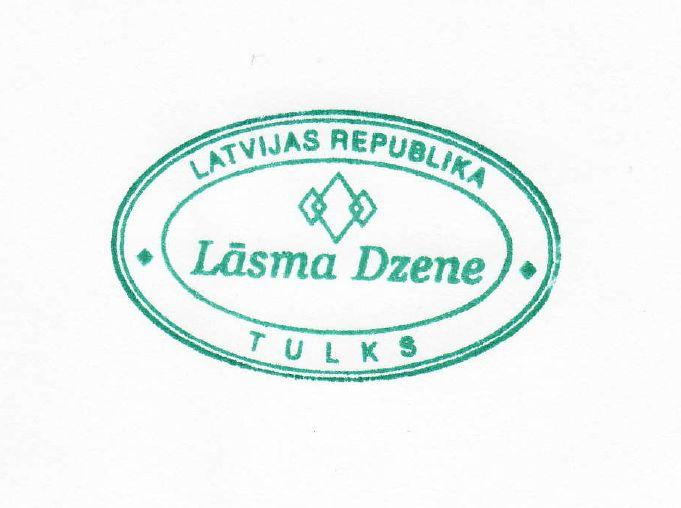 Lāsma Dzene, tulka pakalpojumi Logo
