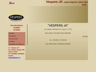 Vespers JK IK Homepage