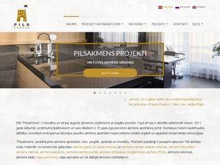 Pilsakmens SIA Homepage