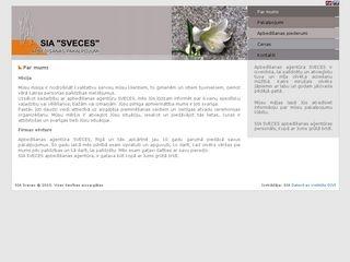 Apbedīšanas Birojs SVECES  SIA -     Klusā iela 9 webpage