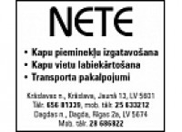 Nete SIA darbnīca Logo