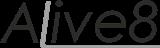Alinas Ikaunieces tulkošanas birojs Alive8 Логотип