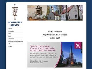 Augstrozes evaņģēliski luteriskā baznīca Mājaslapa