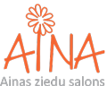 Aina ziedu salons logo