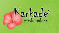 Karkadē SIA Ziedu salons Logo
