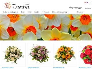 Erantes ziedi, Erante S SIA Mājaslapa