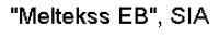 Meltekss EB SIA Logo