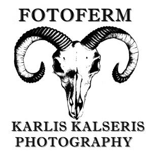 Kārlis Kalseris fotogrāfs Logo