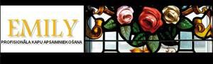EMILY kapu kopšanas aģentūra logo