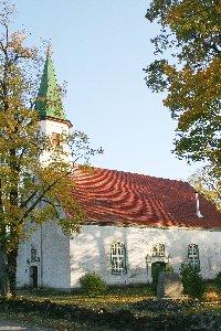 Alojas evaņģēliski luteriskā baznīca Logo