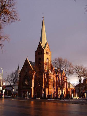 Daugavpils Mārtiņa Lutera evaņģēliski luteriskā baznīca logo