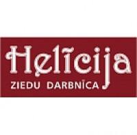 Helīcija ziedu salons logo