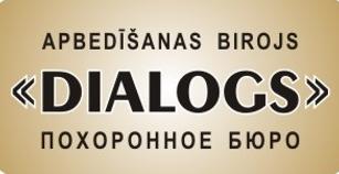 Dialogs, apbedīšanas birojs Logo