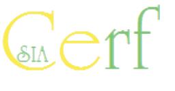 Cerf SIA Logo