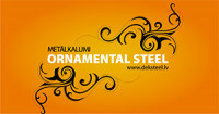 Ornamental Steel SIA logo