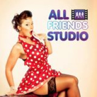AllFriends Studio IK Advanced foto studija Логотип