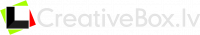 Creativebox.lv fotosalons Logo