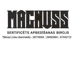 Magnuss, apbedīšanas birojs logo