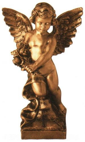 Bronze angel -