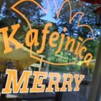 Merry kafejnīca Logo