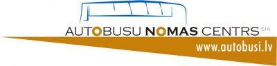Autobusu nomas centrs SIA Logo