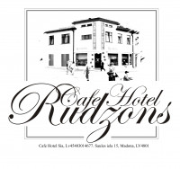 Rudzons viesnīca-cafe Madona Логотип