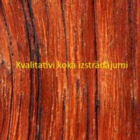 Kvalitatīvi koka izstrādājumi IK Logo