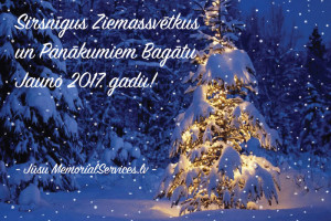 Sirsnīgus Ziemassvētkus un panākumiem bagātu jauno 2017. gadu!