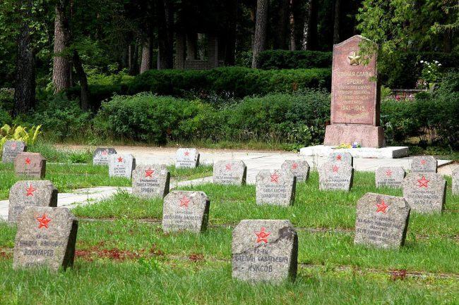 Otrā pasaules kara kritušo padomju karavīru Brāļu kapi, Jekabpils Логотип