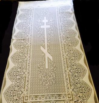 Līķauts ar pareizticīgo krustuShroud with an Orthodox cross