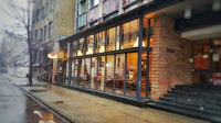 Aleksandrs restorāns, Centrs