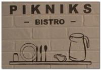 Pikniks, bistro Logo