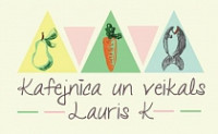 Lauris K SIA kafejnīca Logo