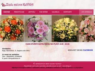 Klīviga, ziedu salons Galvenā