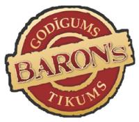 BARON's kafejnīca-ēdnica Logo